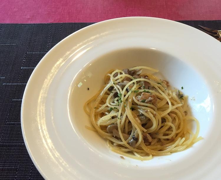 イタリア料理星のヒカリのパスタ
