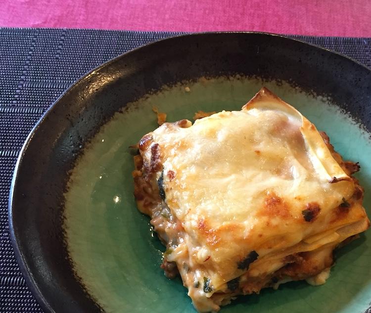 イタリア料理星のヒカリのラザニア