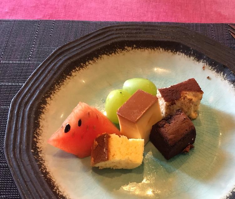 イタリア料理星のヒカリのデザート