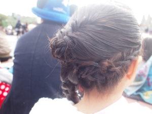 ビビディバビディブティックの髪型