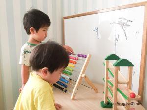 エピナール那須のキッズルームのおもちゃ