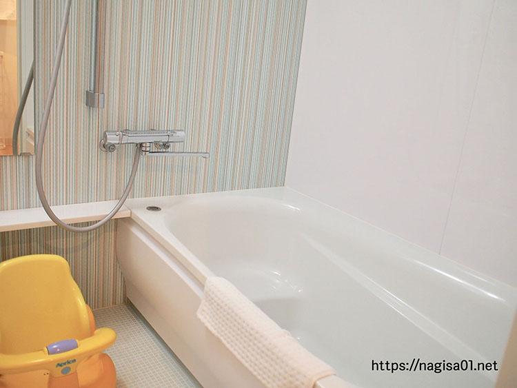 エピナール那須のキッズルームのお風呂