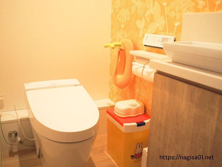 エピナール那須のキッズルームのトイレ