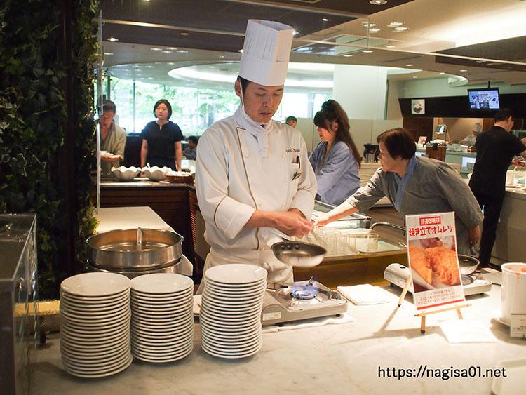 エピナール那須の朝食バイキング